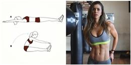 Chăm chỉ tập những bài tập này bạn sẽ tự tin về cơ thể mình hơn khi soi gương