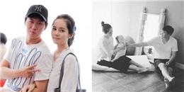 Hé lộ hình ảnh con gái đầu lòng của Han Ga In - Yeon Jung Hoon