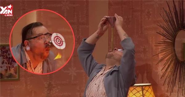 BGK hốt hoảng vì thí sinh bị bắn tên trúng cổ trên truyền hình