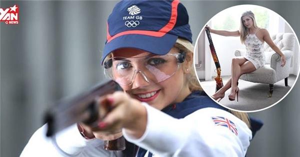 Dân tình phát sốt với nữ xạ thủ Olympic đẹp như hoa hậu