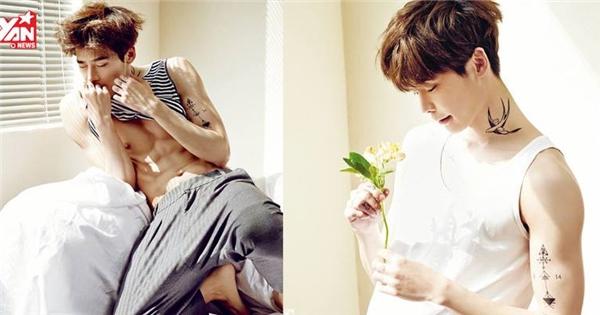 Fan ngất ngây với ảnh chụp tạp chí ngày xưa của Lee Jong Suk