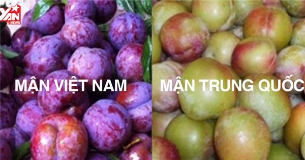 Cách phân biệt 7 loại trái cây Trung Quốc