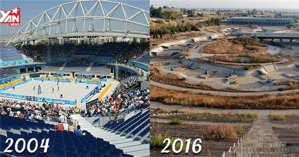 """Những công trình Olympic hoành tráng """"dùng một lần rồi bỏ"""""""