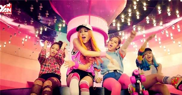 "Girlgroup thay thế 2NE1, Black Pink, tung MV ra mắt ""BOOMBAYAH"""