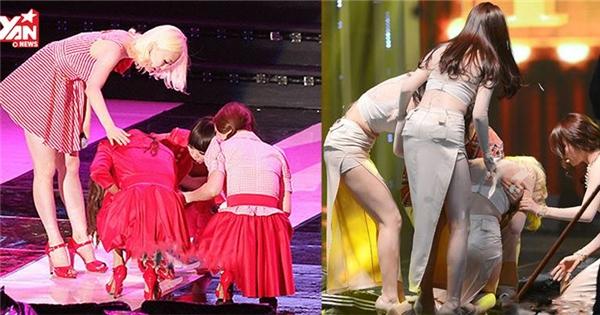 Những sự cố để đời không thể quên của các girlgroup Kpop