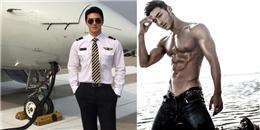 Đến siêu mẫu cũng phát ghen với thân hình chuẩn của nam phi công Hàn