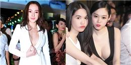 """Nhức mắt với những màn """"thả rông"""" của các sao nữ Việt"""