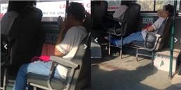 Bức xúc vì cô gái ăn xôi hành và xịt nước hoa... vào nách trên xe buýt
