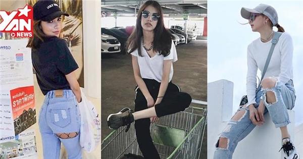 """3 kiểu quần cực chất khiến các nàng """"hot girl"""" Thái tích cực lăng xê"""