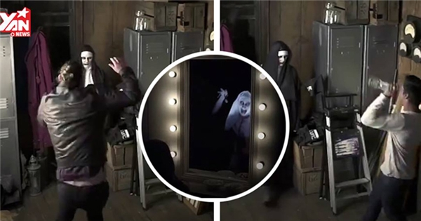 Gần tới mùa Halloween, ma sơ Valak lại lộng hành