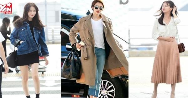 4 mỹ nhân Hàn mỗi lần ra sân bay khiến fan bấn loạn vì đẹp như tạp chí