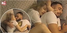 Chết cười với '50 sắc thái' của các chàng khi ngủ cùng bạn gái