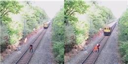 Tranh cãi sự thật hình ảnh cứu người giữa đường ray đang gây bão mạng