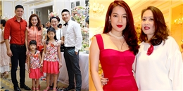 Gia đình Bình Minh, Trương Ngọc Ánh dự thôi nôi con gái Hà Kiều Anh
