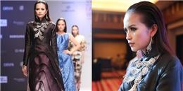 Quán quân Ngọc Châu mở màn Tuần lễ thời trang Quốc tế tại Hà Nội