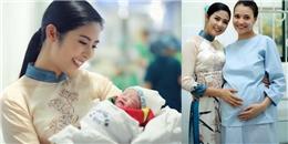 Hoa hậu Ngọc Hân khoe con gái đầu lòng của Hồng Quế