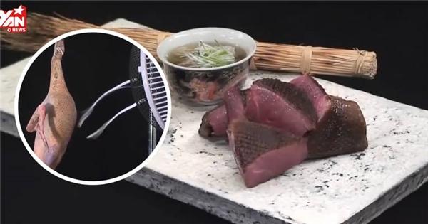 Đây là cách người Nhật chế biến món vịt có giá 42 triệu đồng
