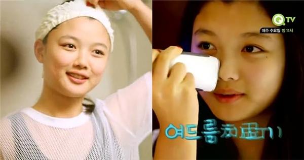 """Kim Yoo Jung xứng danh """"nữ thần mặt mộc"""" qua clip hướng dẫn rửa mặt"""