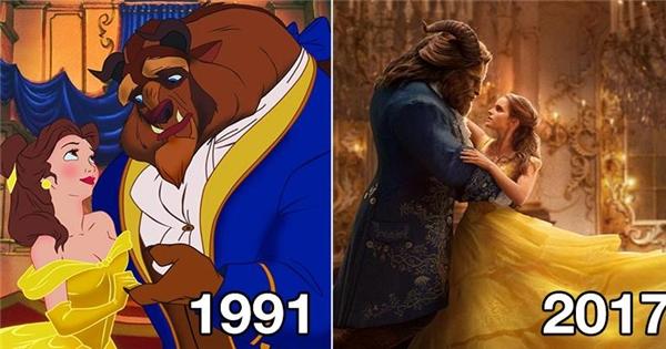 """""""Người đẹp và Quái vật 2017"""" có gì khác với phiên bản gốc 1991"""
