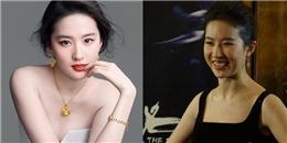 Giật mình trước 'nhan sắc' của người đẹp Hoa ngữ khi cười