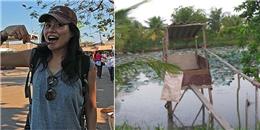 Blogger du lịch nước ngoài ấn tượng vì 'cầu cá tra'
