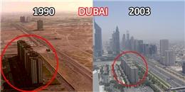 Sự thay đổi đến không thể nhận ra của các thành phố lớn qua thời gian