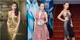 Những chiếc váy xẻ khiến người xem