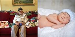 Cụ ông 86 tuổi tự tay đan hơn 300 chiếc mũ cho các bé sơ sinh