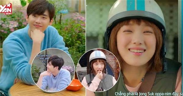 """""""Kang Chul"""" Lee Jong Suk xuất hiện đáng yêu ủng hộ phim mới của đàn em"""