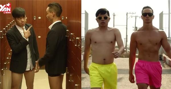 """Thái Hòa - Kim Lý, bộ đôi """"vệ sĩ Sài Gòn"""" hài hước và siêu bựa"""