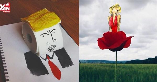 Những tác phẩm nghệ thuật được tạo nên từ đồ vật siêu chất