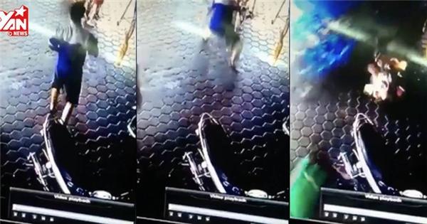 2 đứa trẻ thoát chết nhờ pha cứu nguy không thể thần thánh hơn