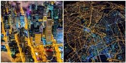 Ngây ngất với những bức ảnh chụp khoảnh khắc thành phố lên đèn