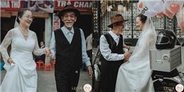 Ngưỡng mộ tình yêu đi qua 50 năm cuộc đời của ông bà cụ Hà thành