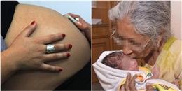 Xác nhận người mang thai hộ lớn tuổi nhất thế giới là bà ngoại 67 tuổi