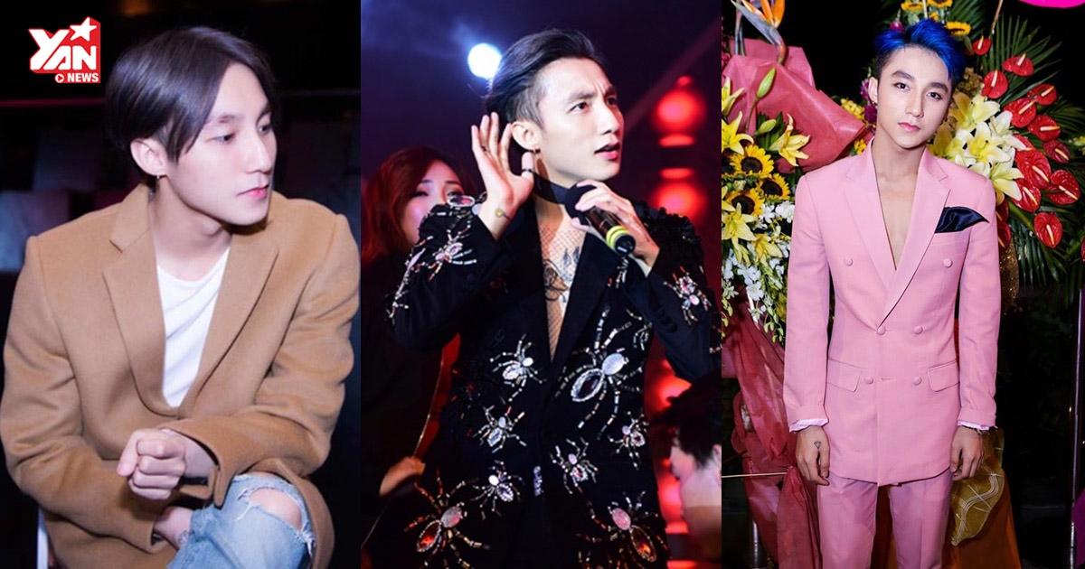 Gu thời trang ngày càng nữ tính đến khó tin của Sơn Tùng