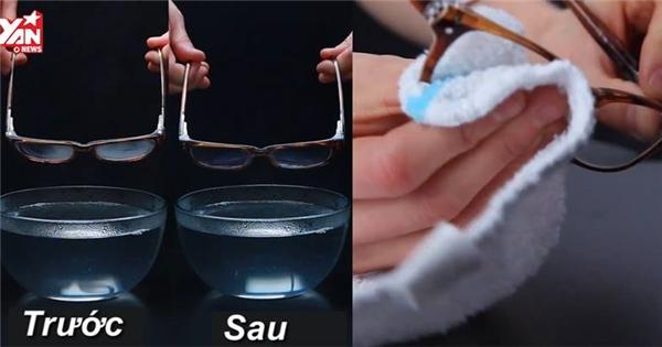 Mẹo nhỏ để kính sẽ không bị mờ khi trời lạnh