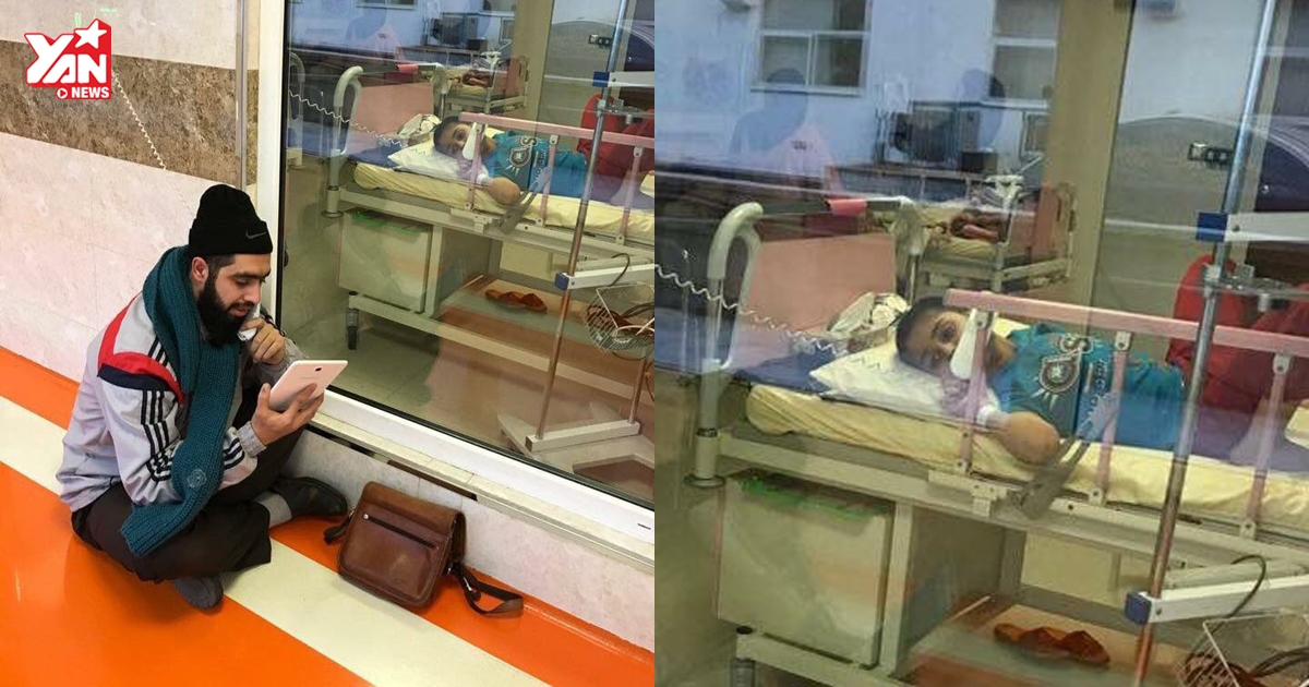 Xúc động người thầy giảng bài cho học trò ung thư trên giường bệnh