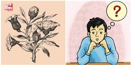 Thách bạn tìm được 6 khuôn mặt ẩn trong đóa hoa hồng này
