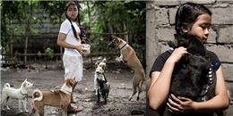 Được chú chó giúp thoát chết, cô bé 12 tuổi làm nên 'điều kì diệu'