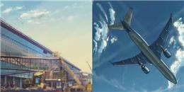 Sân bay Nội Bài hiện lên đẹp lung linh trong clip hoạt hình Nhật