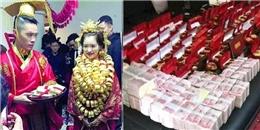 Choáng với những đám cưới 'dát vàng' từng gây bão mạng