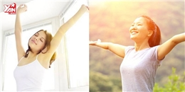 Bài tập giúp bạn tích trữ 'năng lượng may mắn' cho cả ngày
