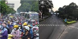 Có một Sài Gòn thật lạ lẫm trong những ngày Tết Nguyên đán