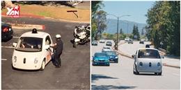 Xe tự lái của Google bị cảnh sát