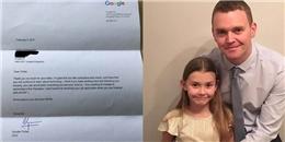 Bất ngờ với cách CEO Google phản hồi lá thư xin việc của cô bé 7 tuổi