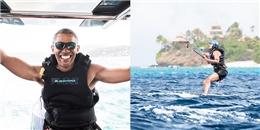 Thích thú với hình ảnh Obama lướt sóng cực ngầu dù vừa... thất nghiệp