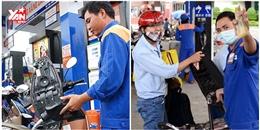 Giá xăng chính thức tăng hơn 500 đồng/lít