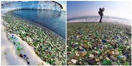 Kì lạ 'bãi biển thủy tinh' tự biến rác thải thành... sỏi đủ màu